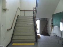 Present: Inside of Yoshida-South Campus Bldg. No.4 (former E Bldg.)